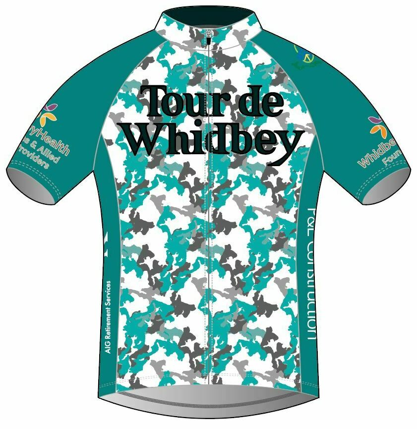 Offficial Tour de Whidbey Jersey